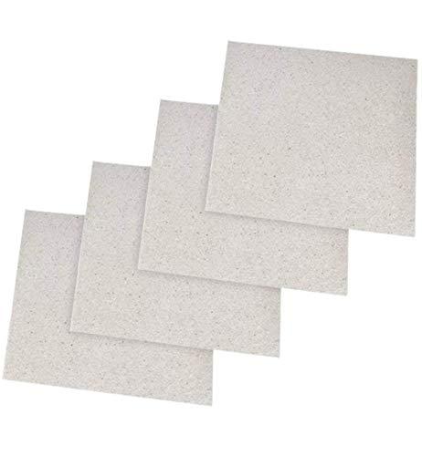 Glimmerscheibe Hohlleiterabdeckung für Mikrowelle Blätter Glimmerplatten Ofen Reparatur Teil Platten (130X130mm)