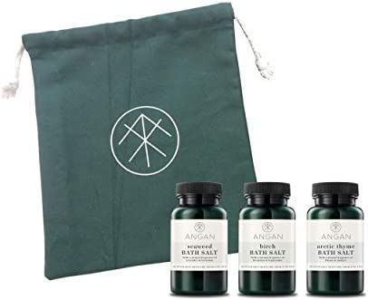 ANGAN sold out 3 Pack Direct stock discount Bath Set Includes B Seaweed Arctic Thyme and Birch