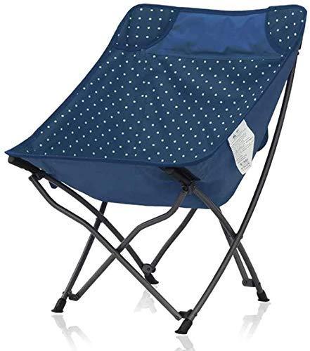 WJXBoos Silla de camping plegable, ultraligera silla de jardín portátil con bolsa para senderismo, picnic, pesca, parque, festival, al aire libre, playa, etc. (rojo)