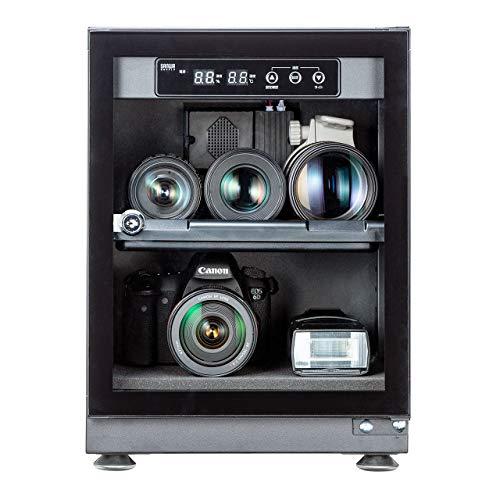 サンワダイレクト 防湿庫 ドライボックス カビ対策 カメラ収納ケース LEDライト付 30L 200-DGDRY001
