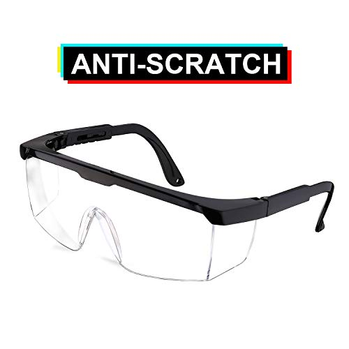 ENJOHOS Gafa de Protección Laboral Visión Panorámica Protecciones para los ojos Gafas protectoras antipolución