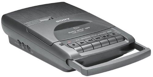 Sony TCM-929 Pressman Desktop Cassette Recorder with Automatic Shut-Off
