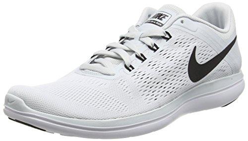 Nike Flex 2016Rn, Men Multisport Outdoor Shoes, Silver (002 Silver), 12 UK(47 1/2 EU)