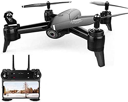 aipipl GPS 4K HD Camera 2.4Ghz FPV WiFi RC Quadcopter App Control con transmisor, retención de altitud y despegue/Aterrizaje con un botón, Bueno para Principiantes, Negro