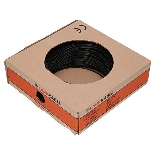 100m Lapp 4510013 PVC Einzelader H05V-K 1,0 mm² Schwarz