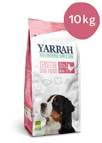 Yarrah Adult Dog Food Sensitive Huhn, 10 kg