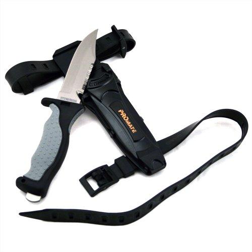 Promate Sharp Tip Titanium Dive Knife