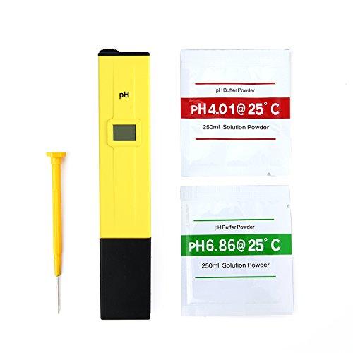 SAVFY® PH Testeur Électronique Digital Hydroponique Poche Pen-PH Pour Aquarium Piscine