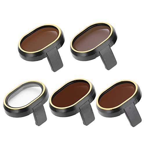 Akozon 5 Pezzi Filtro ND Set di Filtri per Obiettivi per Fotocamera Drone Filtri Multistrato Filtro di Protezione Dell'obiettivo Combinato Kit Filtri Star/ND 4/8/16/32 per FIMI X8 Mini Drone