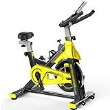 YHRJ Bici de Spinning giratoria silenciosa para Interiores,Bicicletas estáticas con Pedal Ajustable,Equipo de Ejercicio físico para Bajar de Peso,Puede soportar 150 kg