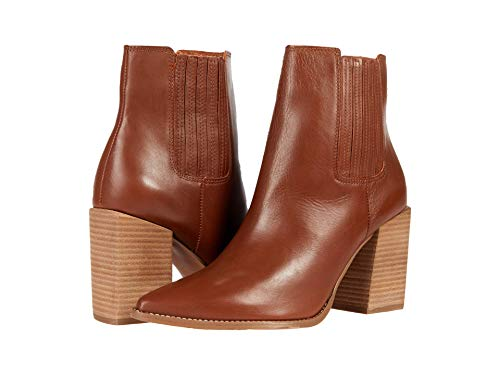 Steve Madden Acton Bootie Cognac Leather 8 M