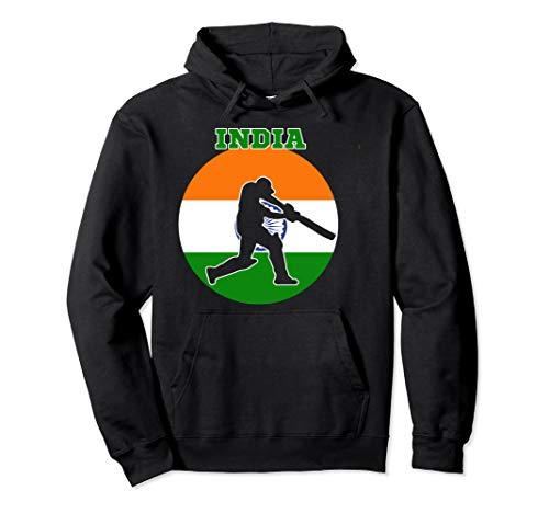 Cricket Apparel India Cricket Jersey Batsmen Design Pullover Hoodie
