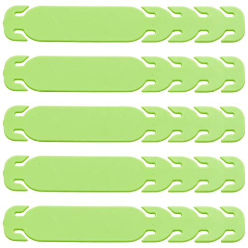 Healifty 10Pcs Face Cover Strap Extender Ear Strap Hook Anti-Slip Ear Grips Protector Buckle for Ear Bless Release Green