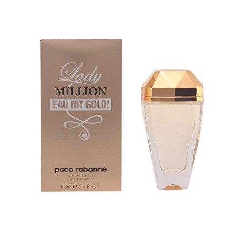 Paco Rabanne - LADY MILLION EAU MY GOLD! eau de toilette vapo 80 ml