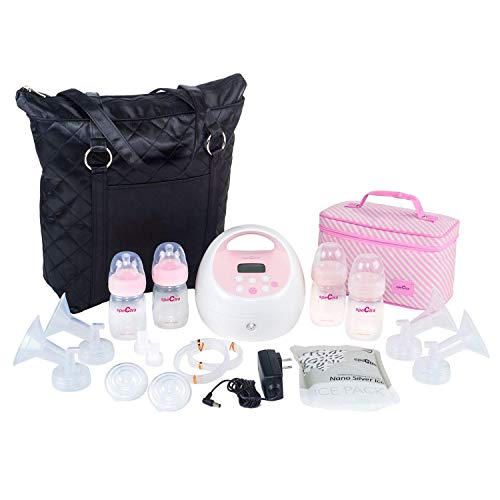 Spectra Baby USA - S2Plus Electric Breast Pump with Black Tote and Cooler