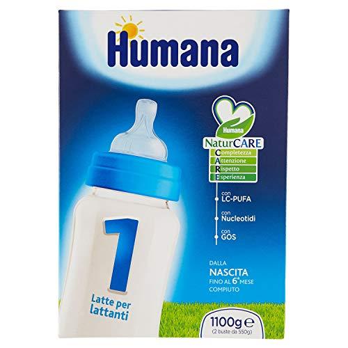 Humana 1 Con AGPI-CL nucleótidos Gos 1100g Leche
