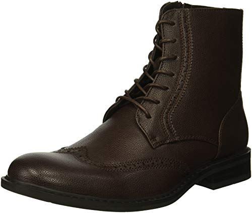 Unlisted by Kenneth Cole Buzzer Oxford – Botas para Hombre, Marrón, 10 M US