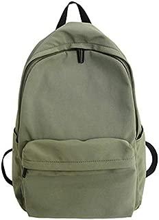 TOOGOO New Waterproof Nylon Ladies Backpack Large Capacity Travel Bag Bag Female Black