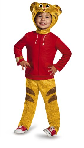 Daniel Tiger's Neighborhood Daniel Tiger Classic Toddler Costume, Small/2T - http://coolthings.us