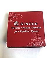 Singer ミシン針 2045 イエローバンド サイズ11/80 箱 (25枚、合計250本)