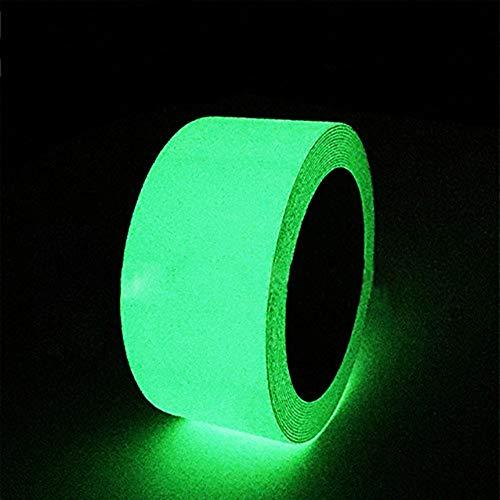 Gebildet Leuchtendes Band, Selbstklebendem Band, Warnband, Luminous Tape, Glow In The Dark, Wasserdicht, Abnehmbar, Sicherheit / 5cm * 3m, 1 Stück