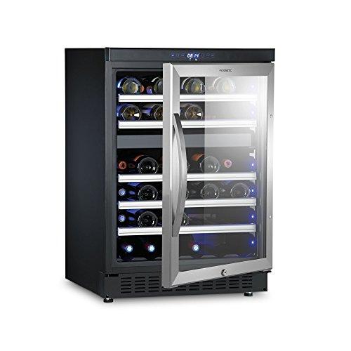 Dometic MaCave D50, 2 Zonen Wein-Kühlschrank für 46 Flaschen, Weintemperierschrank +5 °C bis +22...