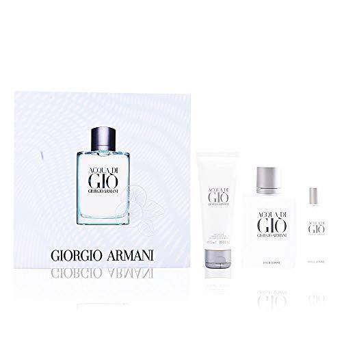 Giorgio Armani Acqua Di Gio Pour Homme 100ml Eau de Toilette + 15ml Eau de Toilette + 75ml Duschgel