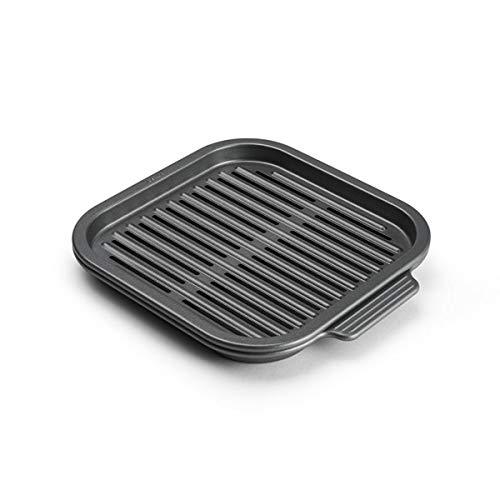 Instant Vortex Official Nonstick Grill Pan, 2-Piece, Gray