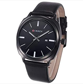 CURREN Men Fashion Sports Quartz Watches Leather Strap Men Watch Curren-8212
