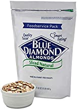 Blue Diamond Almonds Natural Sliced Foodservice Pack, 2 Pound