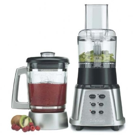 Cuisinart CBT-500FP SmartPower Premier Duet Blender and Food Processor, Stainless Steel
