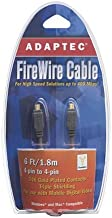 Adaptec FireWire Cable 4-Pin to 4-Pin, 6 ft. (Model 2020900)