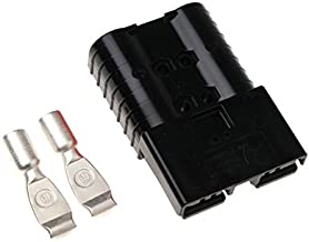 SRE 320 Amp black 80V connector with AWG 2/0 contacts