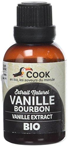 Cook - Extrait de vanille Bourbon Bio - 40 ml