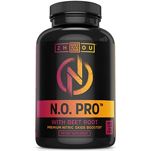 Nitric Oxide Supplement with L Arginine, Citrulline Malate, AAKG and Beet Root - Powerful N.O....