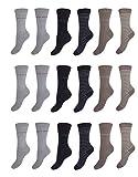 Pierre Cardin 6-18 Paar Socks Damen Socken Strümpfe Baumwolle Bunt 35-38/39-42 (12, 39-42)