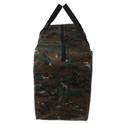 Baoblaze Grand Sac de Rangement Camouflage Sac d'emballage Fourre-Tout de Voyage pour Organisateur de Bagages