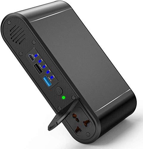 Powerstation, PD 45W Powerbank 30000 mAh Externer Akku 120W Tragbar Ladegerät mit USB Anschluss Universal Powerstation Reiseladegerät für MacBook, Laptops, Smartphone, Tablet, HP, Dell, Lenovo