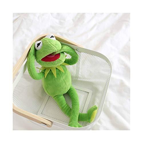 Juguetes de peluche 40cm de la felpa de la rana Kermit Calle Sésamo ranas muñeca El Show de los Muppets juguetes de peluche de cumpleaños de Navidad relleno de la felpa de la muñeca for los niños