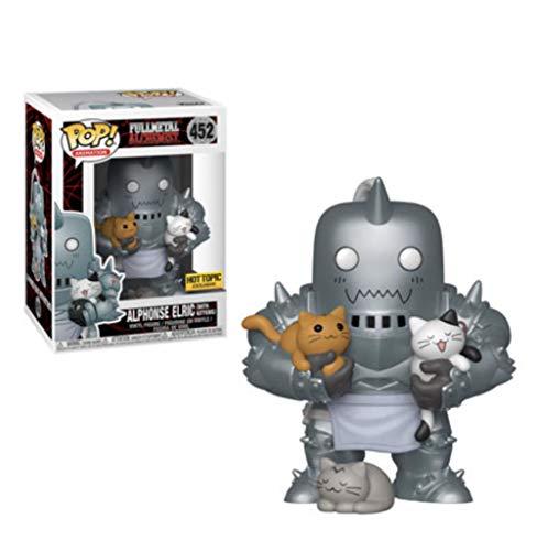 Funko Pop Fullmetal Alchemist Alphonse and Kitty Collection Figura Muneca