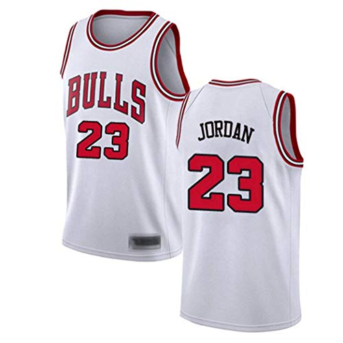 CYYX Jersey para Hombre, NBA Chicago Bulls # 23 Michael Jordan Classic Jersey, Tela Transpirable, Camiseta de Swordman Jersey (4 Estilos),B,S