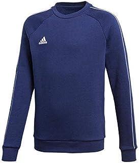 adidas Australia Men's Core 18 Sweatshirt (Long Sleeve), Dark Blue/White, L