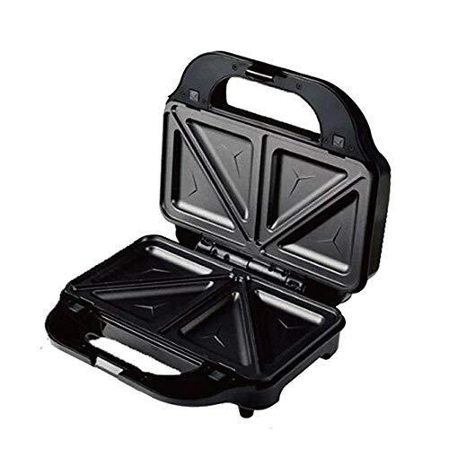 Wafleras Irons, multifuncional Sandwich Tostadora Wafflera, almacenamiento compacto, Revestimiento antiadherente de la Plata, Perfecto for waffles, Sandwich, Desayuno 1125 WTZ012