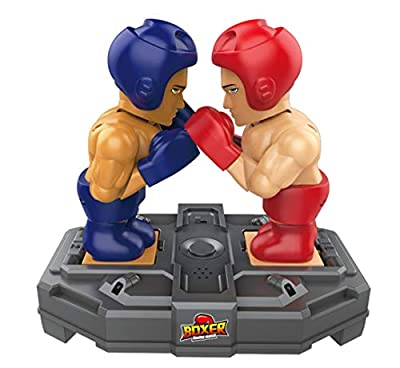 MARUSTAR Boxing Robot Toy,Remote Control, Infrared Induction,Real Boxing Fight Experience,You Control The Robots in a Boxing Ring