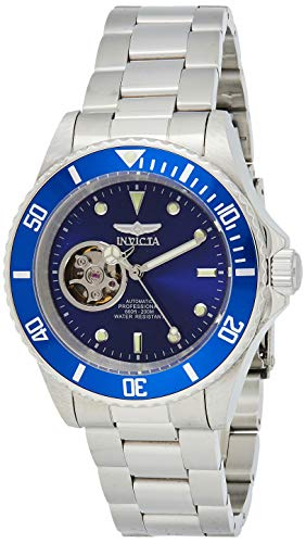 Invicta 20434 Pro Diver Unisex Uhr Edelstahl Automatik blauen Zifferblat
