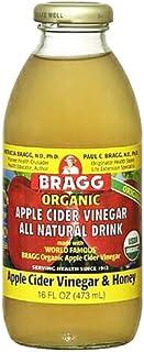 Bragg - Organic Apple Cider Vinegar All Natural Drink Vinegar & Honey - 16 oz. (Pack of 4)