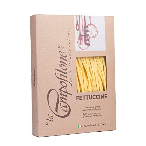 La Campofilone Fettuccine Elite 10 x 250g Pasta all'Uovo