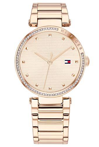 Tommy Hilfiger Dames Analoog Quartz Horloge met RVS Band 1782237