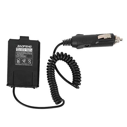 Battery Eliminator Car Charger for BAOFENG UV-5R UV-5R+ UV-5RA UV-5RA+ UV-5RB UV-5RC UV-5RD UV-5RE UV-5RE Plus (Renewed)