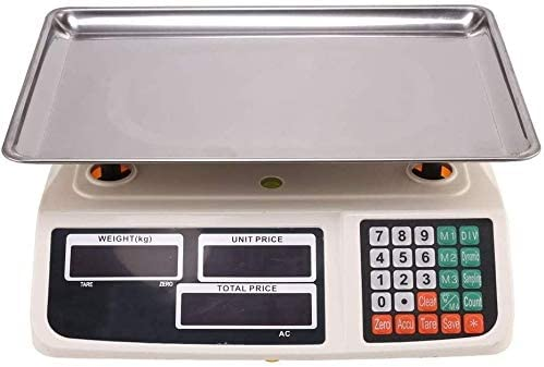 Digital Max 74% OFF Scale Finally resale start 30kg 1g Electronic Price Computing Stainless